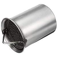 VISTARIC Tubo de escape de motocicleta universal de 51 mm Silenciador Silenciador Deflector Desmontable