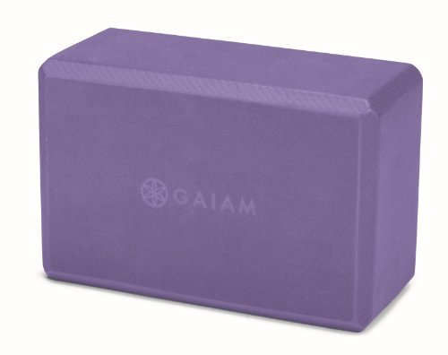 gaiam-52214-bloc-de-yoga-pourpre