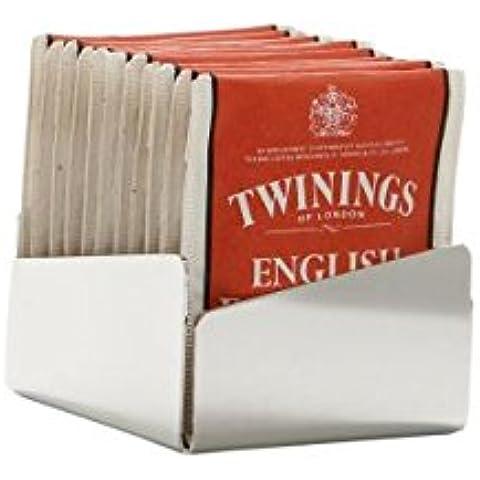 Porta bustine da tè e zucchero Acciaio Argentato