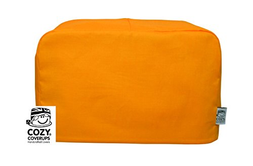 cozycoverup® Staub Cover für Toaster in Kürbis Orange Dualit New Gen Classic 4 Slice pumpkin orange (4 Dualit Slice Toaster)