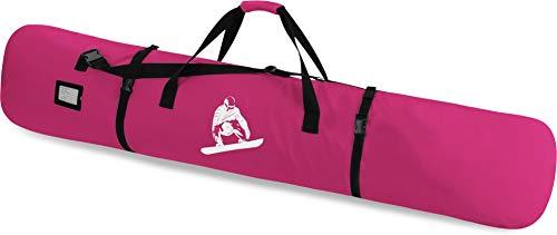 Snowboard Tasche Snow Boardbag mit Adressfeld 170 cm Farbe Pink