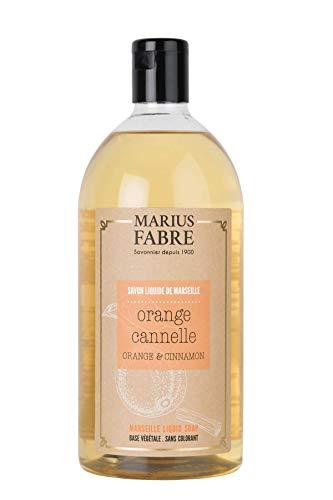 Marius Fabre 'Herbier' : Flüssigseife ZImt-Orange Nachfüllflasche, 1 Liter -