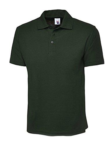 UneekDamen Poloshirt Grün - Bottle Green