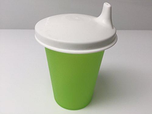 Tupperware Babybecher Schnabelbecher Trinklernbecher grün Baby Kleinkind