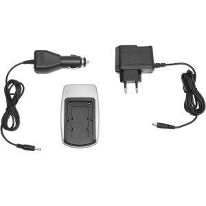 Cavo di ricarica Alimentatore di rete + da Auto per Batteria Sony NP FH30NP FH40NP-FH50NP-FH60FH