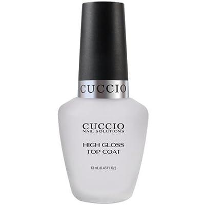 Cuccio Color Top Nail Coat, High Gloss Top Coat, .43 Ounce by Cuccio