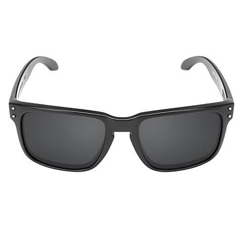 Kiss Sonnenbrille POLARISIERTE mod. RACING FLAT - auto moto GRAN PRIX mann frau SPORTIVI - SCHWARZ
