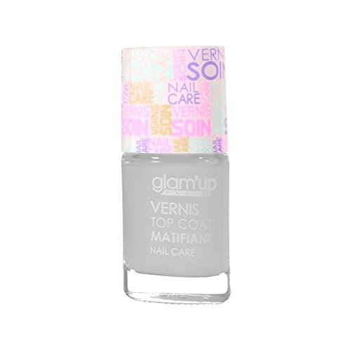 GLAM UP - Vernis à ongles soin TOP COAT MATIFIANT Fabrication Européenne