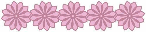 We R Memory Keepers 12-Inch Border Die, Flower by (Quickutz 12 Border Die)