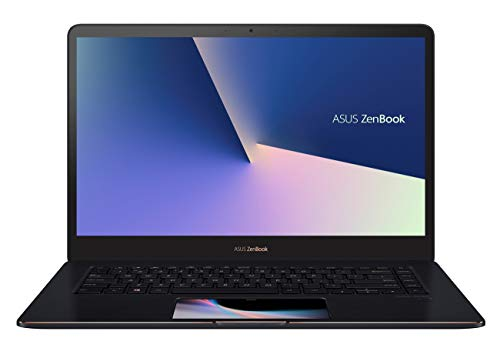 "ASUS ZenBook Pro UX580GD-BN033T - Ordenador Portátil DE 15.6"" Full HD (Intel Core i7-8750H, 16 GB RAM, 512 GB SSD, NVIDIA GeForce GTX1050 de 4 GB, Windows 10 Home) Azul - Teclado QWERTY Español"