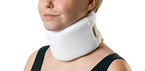 Medline Universal Serpentine Style Cervical Collars, Firm, 4 x 22