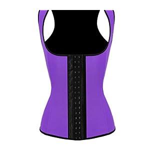 Modeling Strap Latex Waist Trainer Vest Corset Corset Body Shaper Workout Steel Boned