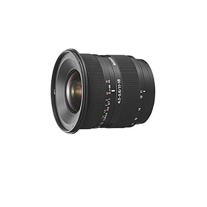 Sony SAL1118 - Objetivo para Sony (distancia focal 11-18mm, apertura f/4.5-29, zoom óptico 1.6x,) negro