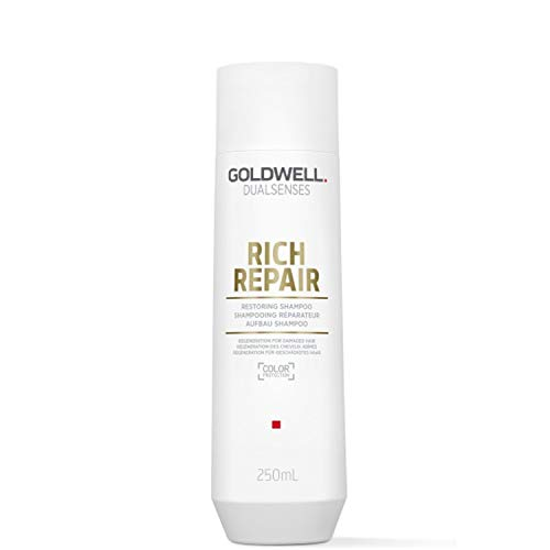 Goldwell Dualsenses Rich Repair Rest Oring Shampoo, 1er Pack (1 X 250 ML)