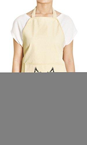 bobcat-head-printed-khaki-kitchen-apron-27-x-325-inch-with-pocket-apr