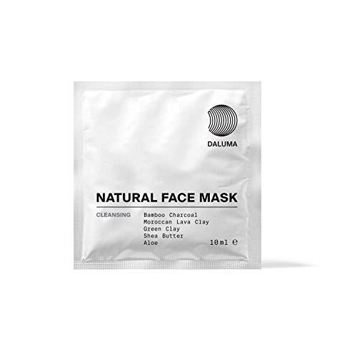 5 Reinigende Gesichtsmasken - Bio Aktivkohle Maske - Natural Face Mask Cleansing von DALUMA