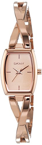 DKNY (DNKY5) Women's Quartz Watch with Rose Gold Dial Analogue Display and Rose Gold Stainless Steel Bracelet NY2314