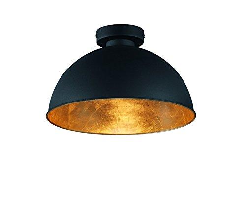 reality-leuchten-deckenleuchte-1-x-e27-ohne-leuchtmittel-durchmesser-31-cm-aussen-schwarz-innen-gold