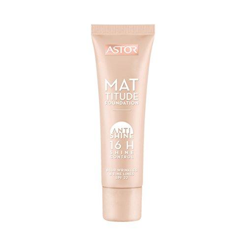 Astor Mattitude Foundation, Farbe 091, 1er Pack (1 x 30 ml)
