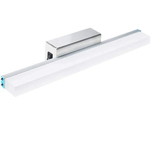 Bonlux 7W 43CM Aplique Espejo Baño Led Interior con Interruptor con 700Lm  Lámpara de Pared Espejo 1322b7cb031a