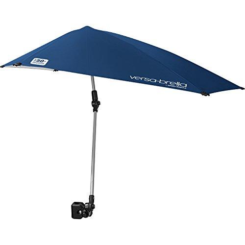 Versa-Brella-Regenschirm für alle Positionen mit Universalklemme von Sport-Brella, midnight blue