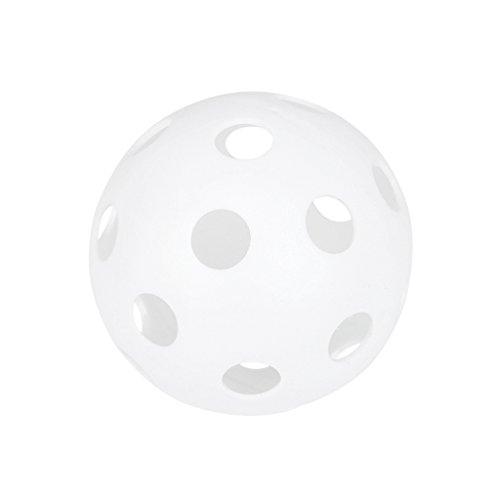 MagiDeal Sport Perforierten Praxis Ball Baseball Kunststoff Haustier Trainingsball Orange