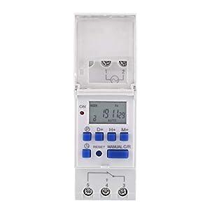 Jadpes Ahc15a Industrial Electronic Timer-Schalter, 1-teiliges LCD-Display Wöchentlich programmierbarer elektronischer…