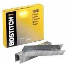 Bostitch Agrafes Agrafes sb35Véritable (Taille L = 6MM (1/10,2cm)) (1Boîte de 1000agrafes) (pour s'adapter à: BOSTITCH b310hds & phd-60Bureau agrafeuses) C/W Barre de chocolat Cadbury