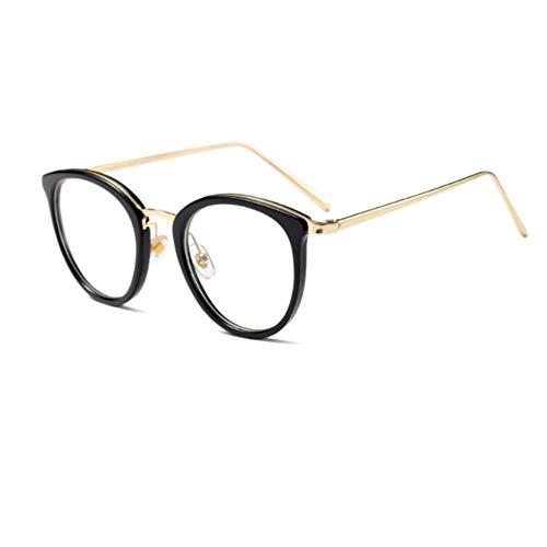 Rjjdd Klare Linse Cat Eye Brillengestell Mode optische Frauen Lesebrillen Vintage transparente Brillengestelle für Frauen 2018 (Cat Eye Kontakt)