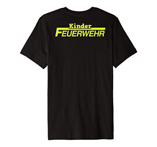 Kinder Feuerwehr T-Shirt Junge Uniform Kostüm