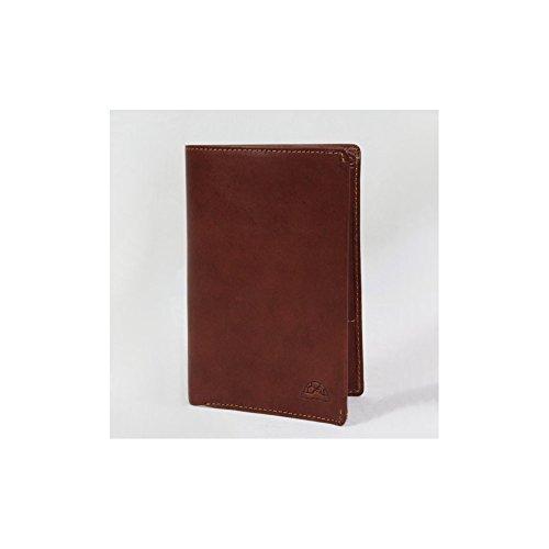 Grand portefeuille porte monnaie et porte cartes cuir vintage Tony Perotti NW3363 - Marron