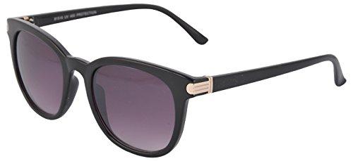 Amrit optics UV Protected Wayfarer Men's Sunglasses - (AO08 50 Purple Lens)