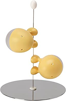 Alessi Lilliput Salt/ Pepper, Yellow by Alessi