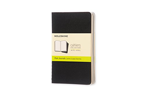 Moleskine QP313 - Pack de 3 cuadernos, pocket 9 x 14, negro