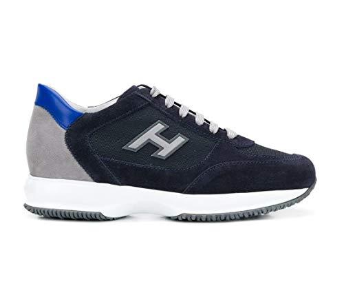 Hogan Scarpe Uomo Sneaker Interactive h Flock HXM00N0Q102JGF489G (44 EU)