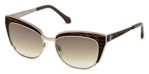 Occhiali da sole Roberto Cavalli RC973S C54 34F (shiny light bronze / gradient brown)