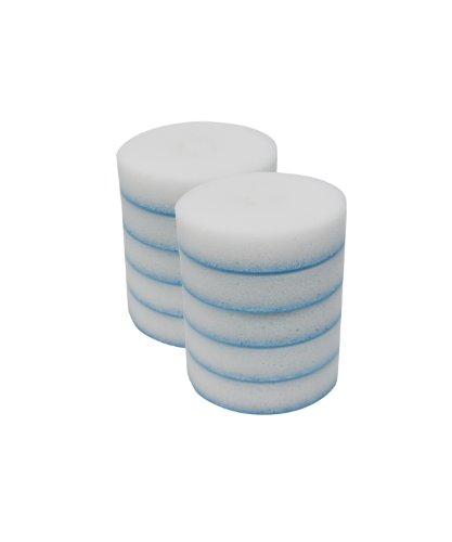 Mr. Clean Dawn Sanfte Schrubber Schwämme 10 Pack Refill Discs weiß - 10k Festplatte