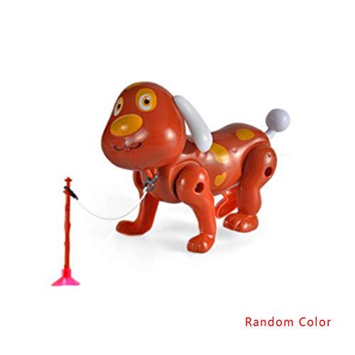 Jinzuke Zufällige Farbe Baby-Kinder Karikatur-Tier-Spielzeug Nette elektrisches Haustier-Drehen 360 Grad Toy Geburtstags-Geschenk