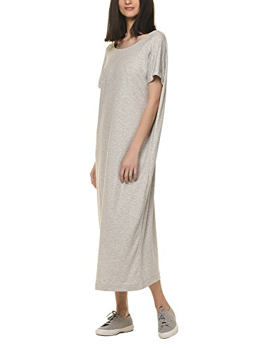 dr-denim-jeansmakers-womens-vivienne-womens-grey-maxi-dress-in-size-m-grey