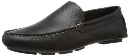 Hush Puppies Monaco, Mocassins homme Noir (Black Leather)