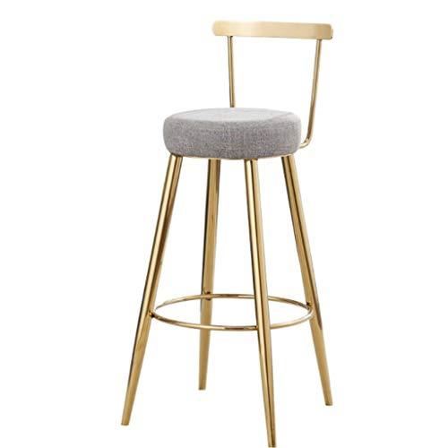 Taburetes Taburetes de bar, juego de sillas de bar con respaldo, asientos grandes, taburetes de desayuno, para la isla de la cocina, barra, mostrador, banqueta alta, barra de lounge y banco Stool