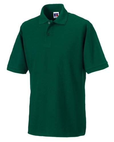 Russell hard polo bot green 3XL