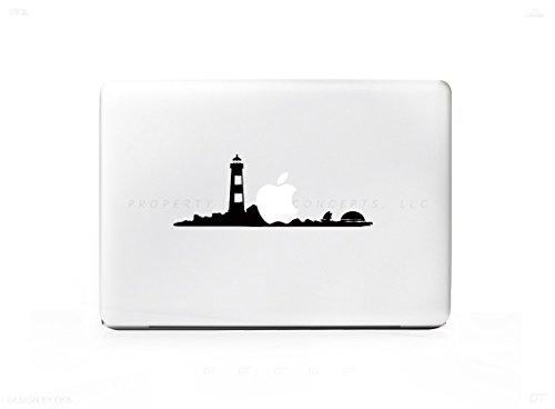 Leuchtturm Sunset Beach Ocean Aufkleber Aufkleber für MacBook Pro 33cm 38,1cm 43,2cm Universal Aufkleber. 6Jahre Garantie