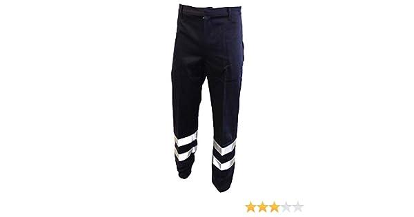 AYKRM Hi Viz Visibility Work Wear Cargo Railway Highway Trousers Pants