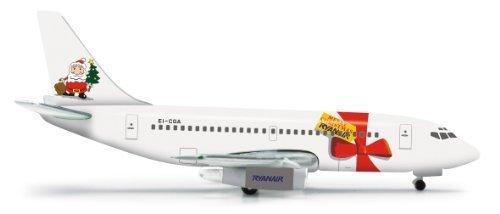 daron-herpa-ryanair-737-200-merry-christmas-1997-diecast-aircraft-1500-scale-by-daron