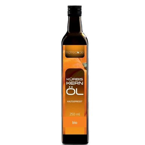Natrea Bio Kürbiskernöl aus der Steiermark | kaltgepresst  100% reines BIO-Öl  in 250 ml...