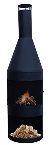 feuerschale 150 cm Ivyline Apollo Feuerschale, 150 cm, Schwarz
