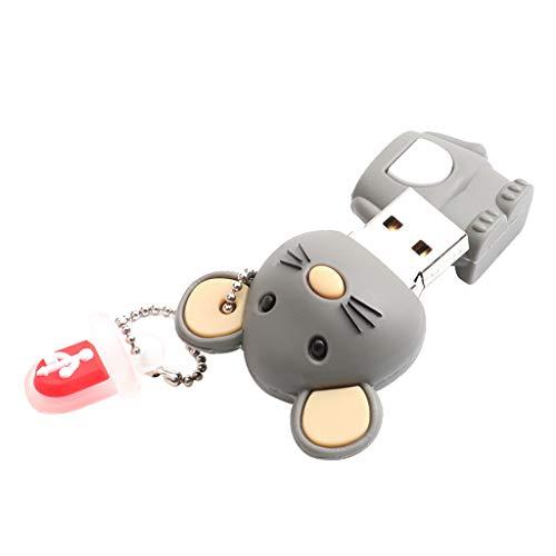 Shiwaki USB Stick Memory Stick Niedliche Maus Cartoon Tier Jump Drive Pendrive - 16G (16 Jump Drive G)
