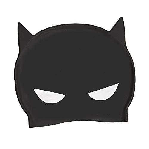 Zoggs Gorro de natación, Juventud Unisex, Batman, hasta 14 Años