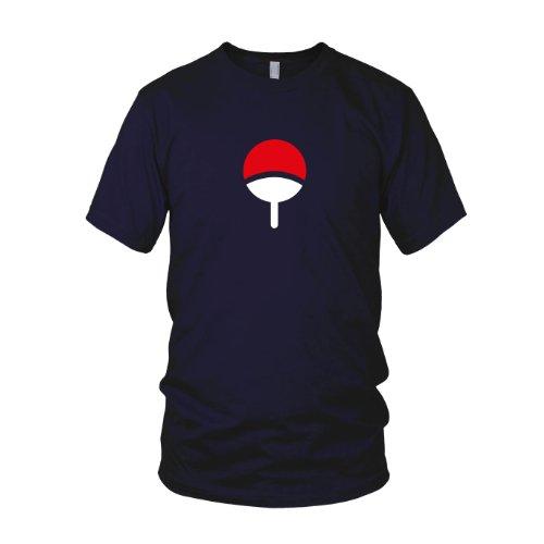 ren T-Shirt, Größe: XXL, dunkelblau (Shippuden Sasuke Kostüm)